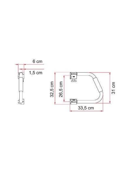 FIAMMA SECURITY 31cm