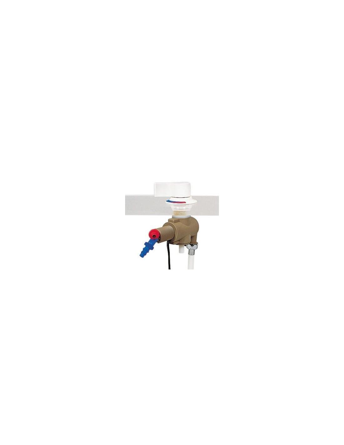 Mando mezclador agua para empotrar con activador de bomba for Mezclador agua para ducha