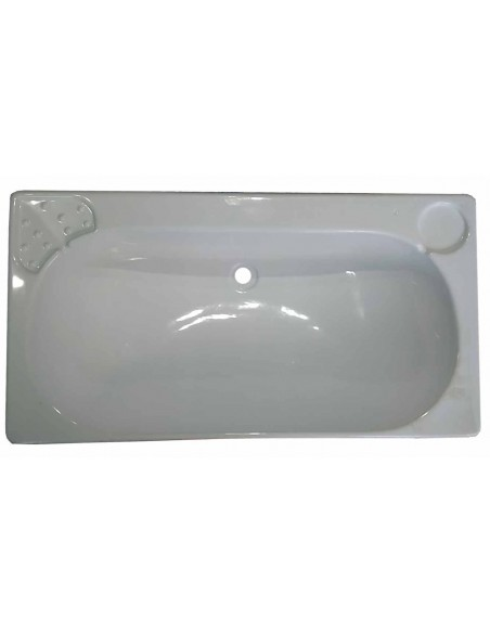 LAVABO RECTANGULAR 650 X 340 mm