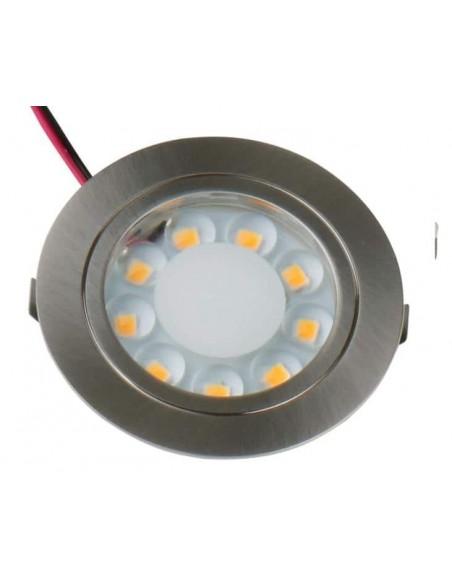 LAMPARA LED 12V REDONDA EMPOTRAR
