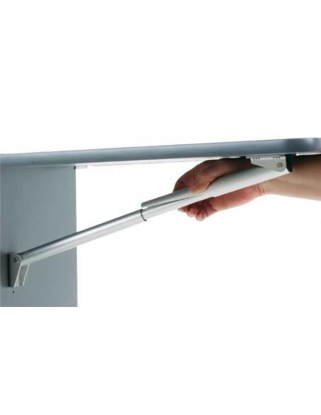 Consola plegable de alumino
