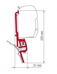 KIT PARA VW T4 MULTIRAIL  PARA F35 / F45