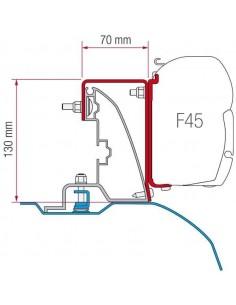 KIT FIAT DUCATO H2 CON RAIL DE TECHO DESDE 06/2006