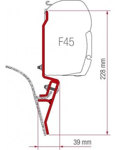ADAPTADOR PARA VW T2/T3 FIAMMA