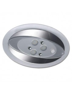 PLAFON OVAL - 18 LED  INTERRUPTOR TÁCTIL CON DIMMER