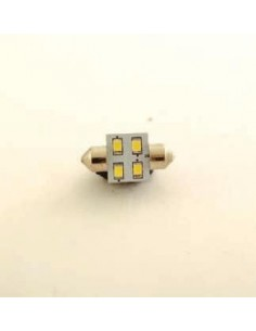 BOMBILLA LED 31mm 4 SMD