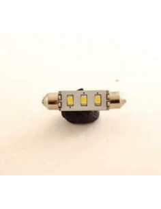 BOMBILLA LED 37 mm 3 SMD