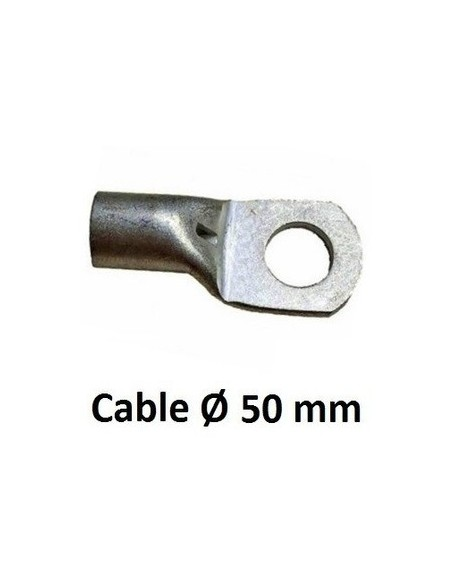 TERMINAL REDONDO PARA CABLE DE 50 MM