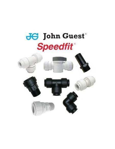 tubería y piezas john guest